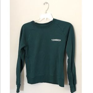 """Sweaters - """"Tomboy"""" pullover"""